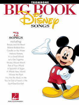 Big book of Disney songs - Posaune