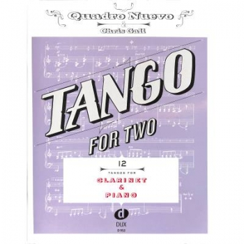 DUX Tango For Two Klarinette Klavier