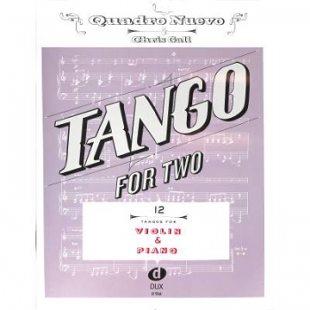 DUX Tango for Two Violine Klav