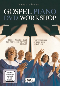 Hage Gospel Piano DVD Workshop