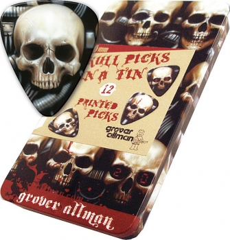 GA Picks Biomechanical Skull Pick Tin
