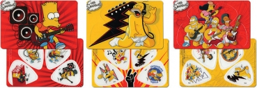 GA Simpson´s PickCard Set (3 Stck sort. a 4 Stck)