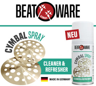 BeatWare Cymbal Spray – Cleaner & Refresher