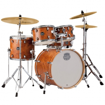 Mapex MXST5045ZIG Storm Komplettset, Camphor Wood Grain  - Ausstellungs-Set Bad Kreuznach