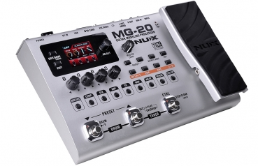 NUX MG-20 Modeling Guitar Effects Processor
