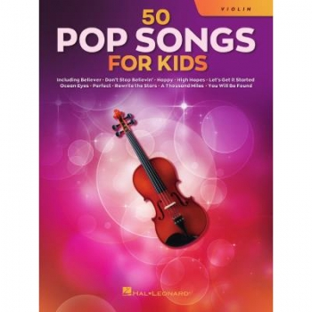 50 Pop songs for kids Violine