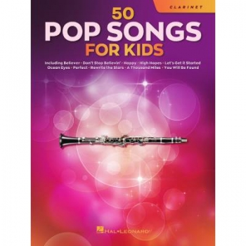 50 Pop songs for kids Klarinette