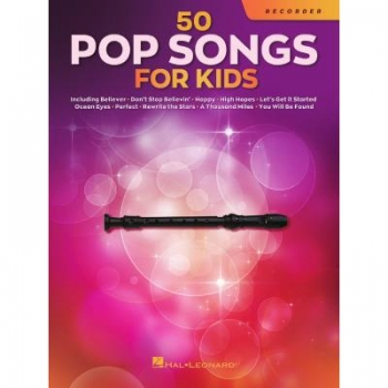 50 Pop Songs for Kids Blockflöte