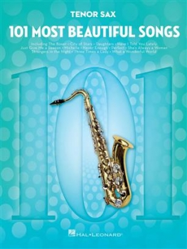 101 Most Beautiful Songs Tenorsaxophon