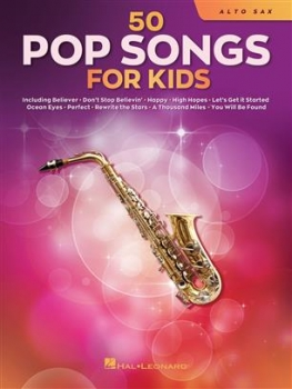 50 Pop songs for kids Altsaxophon
