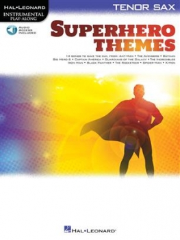 Superhero Themes for Tenor Saxophone