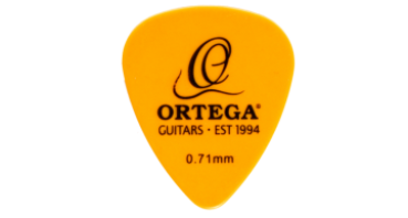Ortega Plectren 20St. 0,71 mm Medium