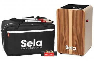 Sela SE 069 Professional Cajon Player Pack