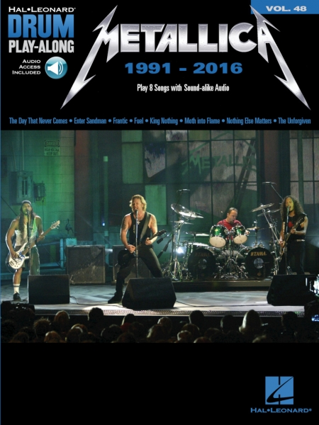Metallica: 1991-2016 Drum Play-Along Volume 48