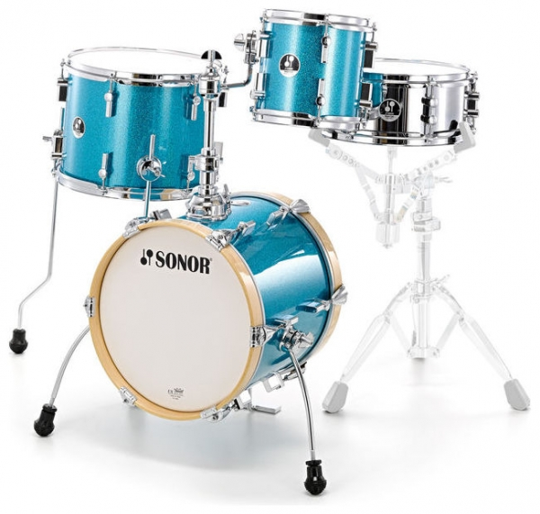Sonor Martini Set Turquoise Sparkle - Ausstellungs-Set Bad Kreuznach