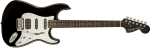 Fender Squier Black and Chrome Standard Stratocaster® HSS