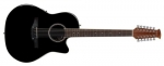 Ovation Applause E-Akustikgitarre AB2412 Mid Cutaway 12-string
