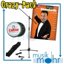 Musik Mohr Crazy-Pack CP21 Kompaktes Mikrofonset +Pop standards - men's edition Noten + Caruso