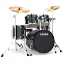 "Tama Imperialstar 20"" Hairline Black Schlagzeug - Ausstellungs-Set Bad Kreuznach"